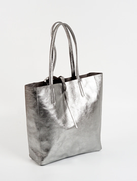 Light Grey(NO.L002) shopper bag M